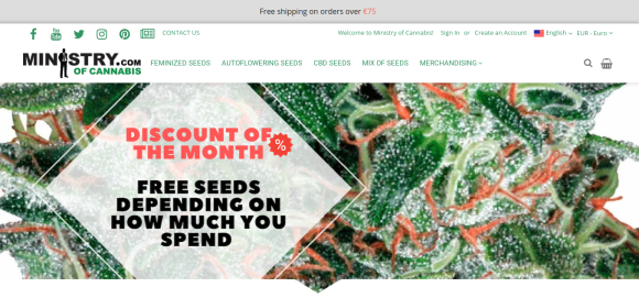 ministry of cannabis new website 1