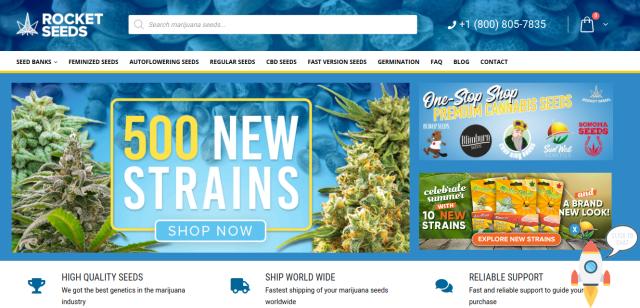 rocketseeds homepage
