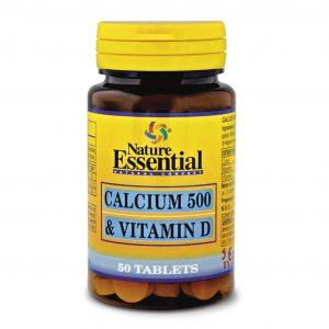 Calcio y vitamina D