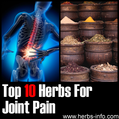 Herbs For Joint Pain
