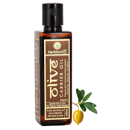 Organic Olive Cold Pressed Carrier Oil For Face-Skin Care & Hair Care
