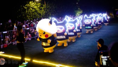Photo of First Pikachu Night Parade outside Japan lights up Sentosa