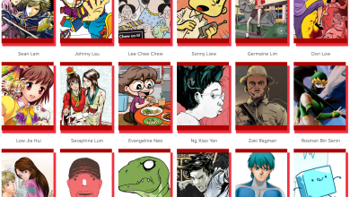 Photo of Comix.sg, an online database of Singapore comic creators, launched