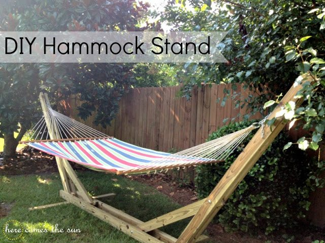 Backyard Hammock Ideas backyard hammock The End Result Is A Hammock That Has A Nautical Throwback Feel Its Lightweight Enough To Carry With You On Your Next Backpacking Adventure Or You Can Keep