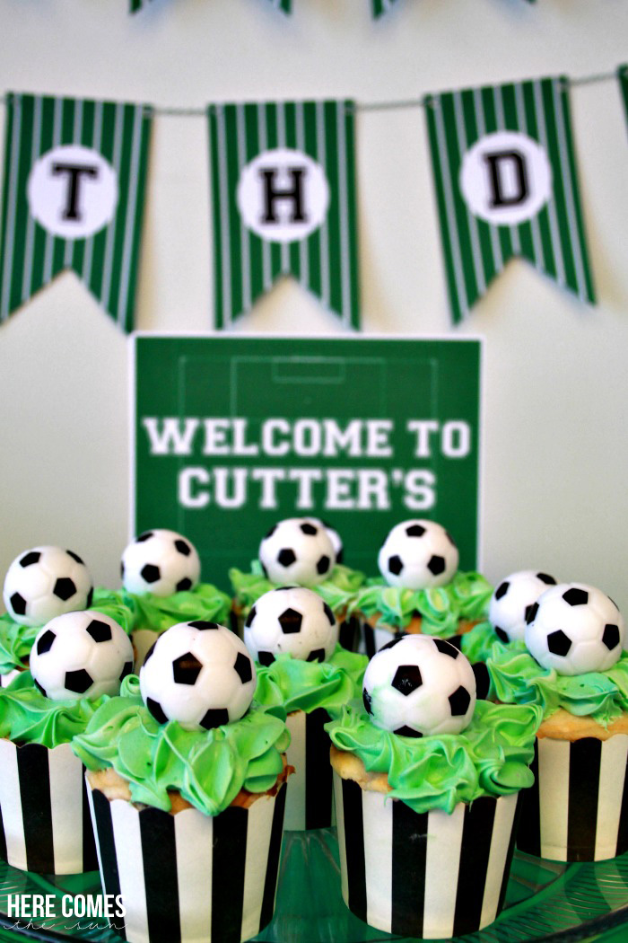 Soccer Themed Birthday