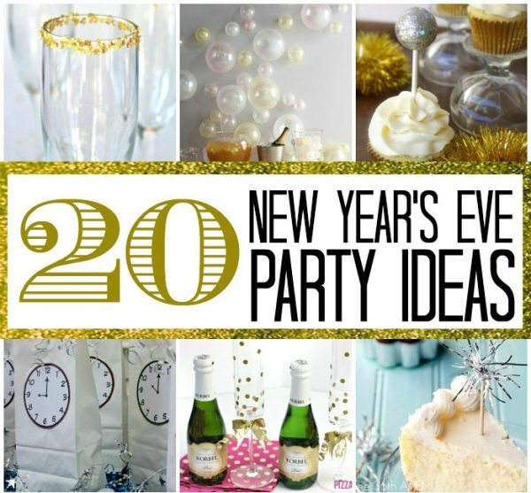 20 New Year's Eve Party Ideas | Here Comes The Sun