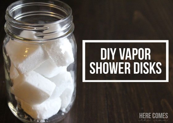 DIY Vapor Shower Disks Here Comes The Sun