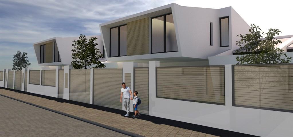 herederos basilio retortillo empresa constructora viviendas promocion caceres chalets adosados construccion fachada