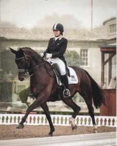 Lucy Pincus riding Sheepcote Doncalisto