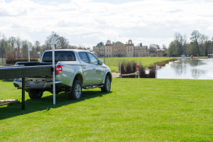 The lake awaits at the Mitsubishi Motors Badminton Horse Trials