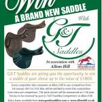 Entries closed – Win a Saddle!