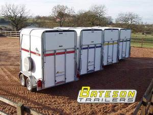 Court Farm Garage, Littledean, Gloucestershire. Bateson Trailers