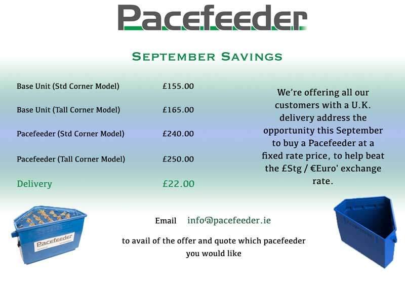 Pacefeeder September-UK-Promotion