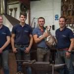 Farriery team celebrate Apprentice success
