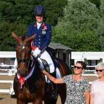 Olympic medallists Dujardin, Hester and Wilton clean up in the Hazlewoods FEI CDI Grand Prix on day three