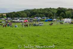 Monmouth BE horse trials held at Howick in 2018
