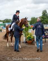 Chris Bartle discusses Sarah Bullimore's dressage test on COROUET
