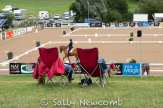 Best seats in the house overlooking the dressage