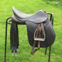 "Quality 17.5"" GP saddle -black"