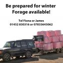 Prepare for Winter – Wrapped Hay