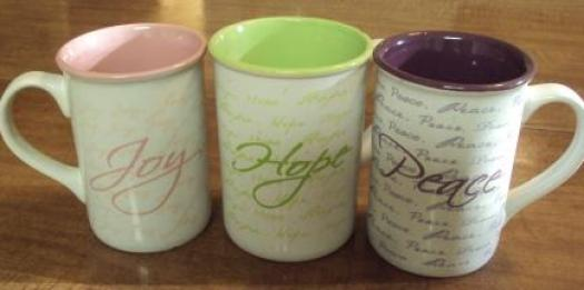 joy hope peace mugs 1