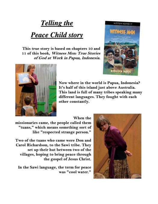 Peace Child photo essay page 1