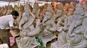 Hindu idol factory