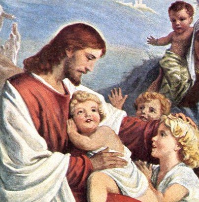 Jesus Blessing The Children Crop Here S The Joy