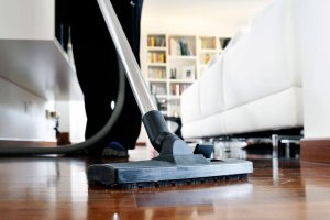 Cleaning home as a volunteer