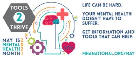 Mental health awareness graphic