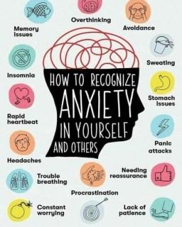 Symptoms of poor mental health