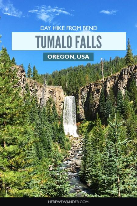 Tumalo Falls - Bend, Oregon