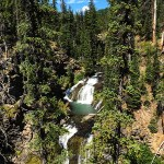 Double Falls - Tumalo Falls - Bend, Oregon
