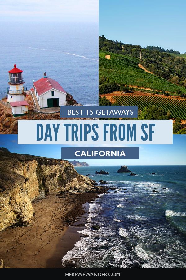 15 best getaways from SF