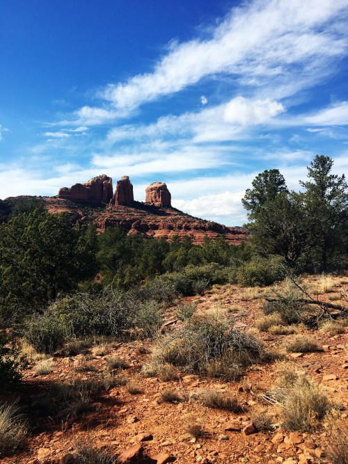 Sedona hiking view