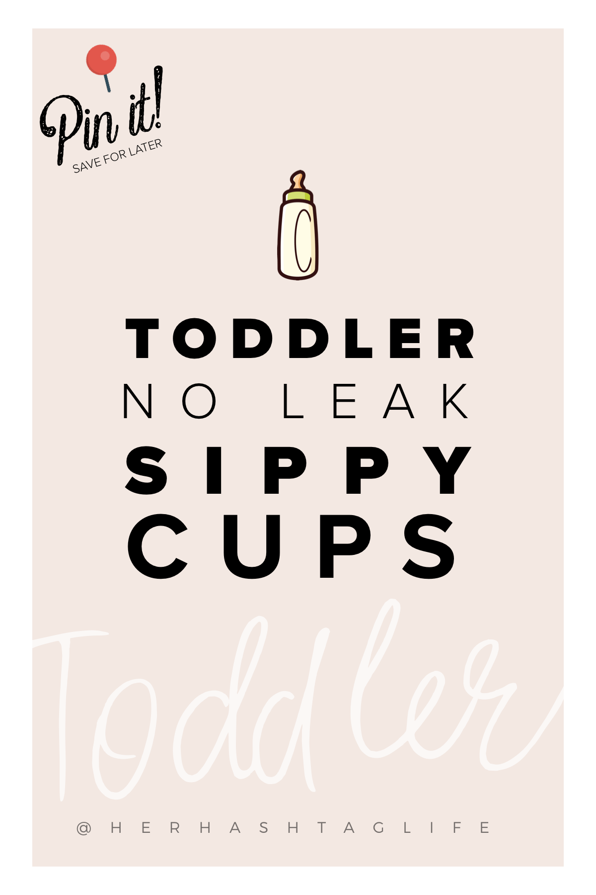 Toddler sippy cups - Nuby Designer Series - Her Hashtag Life