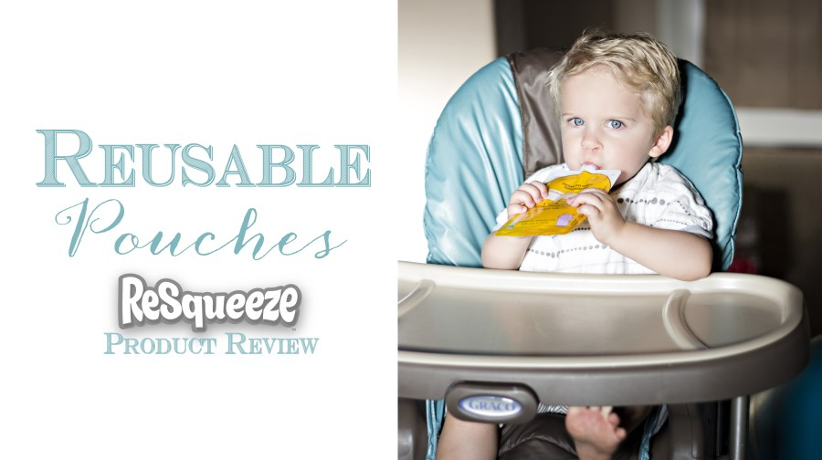 Resqueeze Reusable Pouches