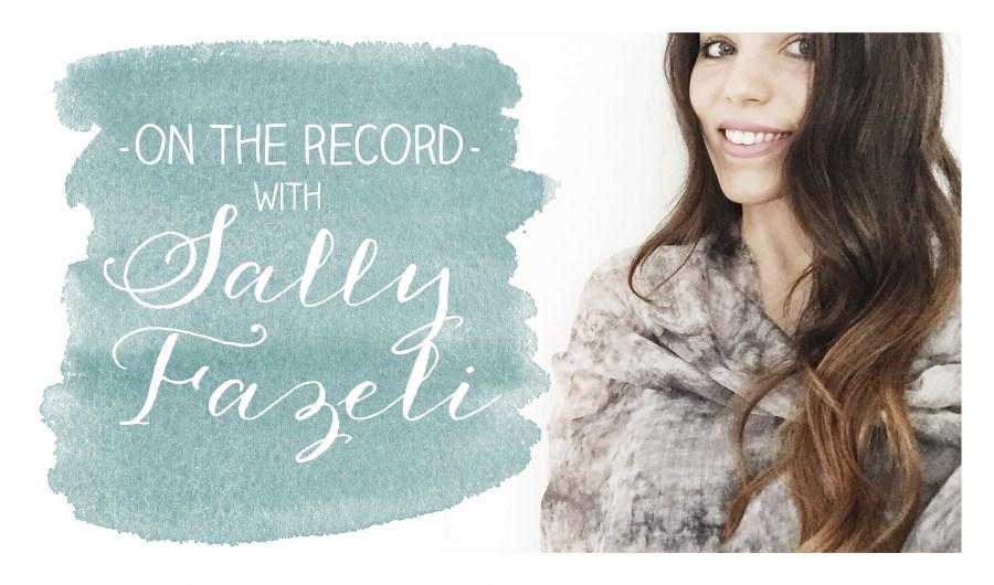 on the record - sally fazeli