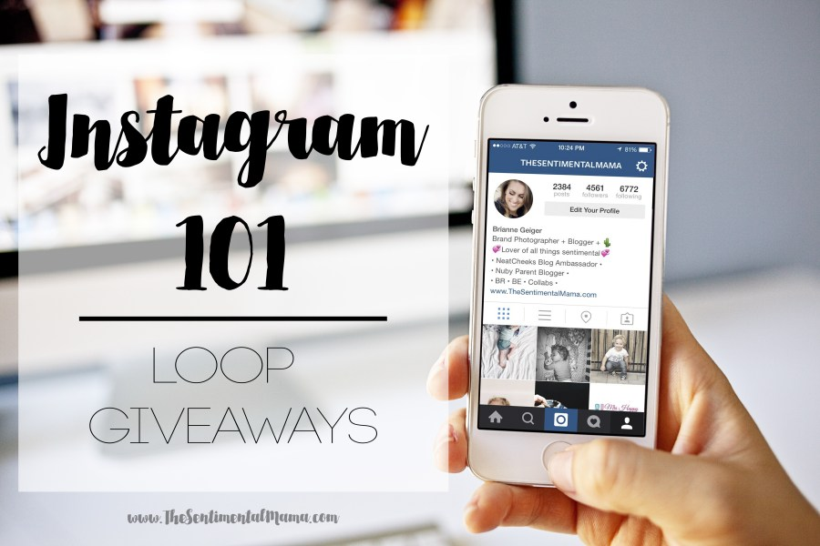 instagram 101 series loop giveaways