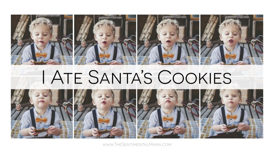 Christmas Pictures | I ate Santa's cookies