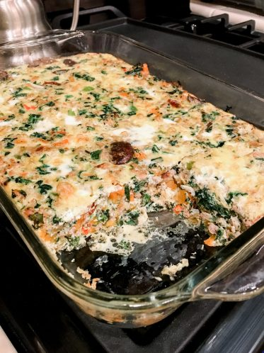 Whole30 Breakfast Casserole - The BEST EVER and is Whole30 compliant! By Her Hashtag Life