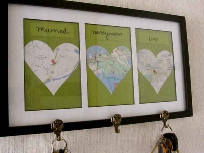 Diamond Wedding Diy Gift Ideas Paper Heart Garland