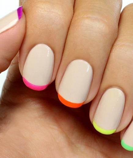 French Tip Nail Design 24
