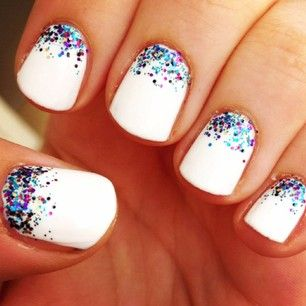 French Tip Nail Design 25