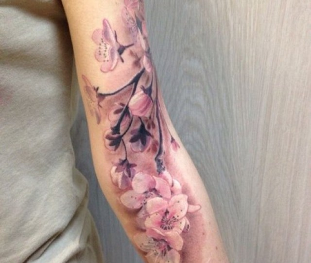 Cherry Blossom Tattoo Meaning Herinterest Com
