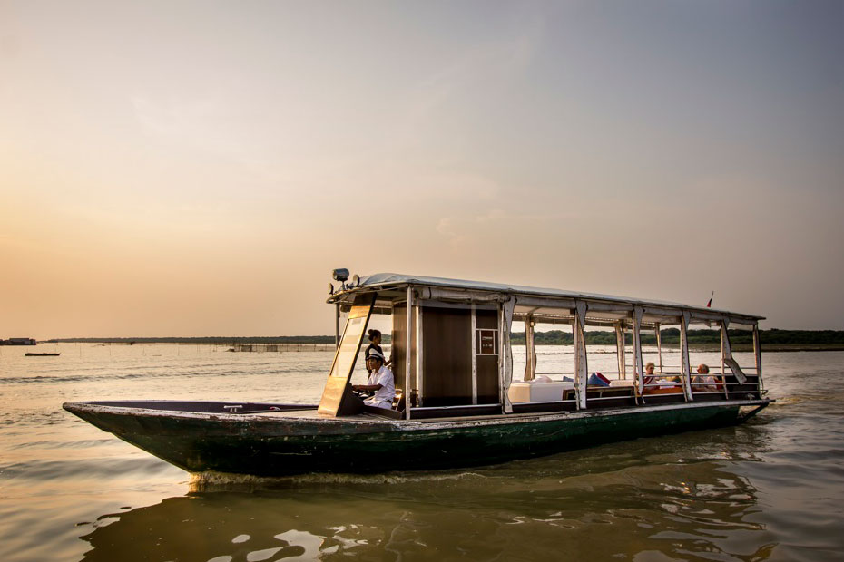 Heritage Adventures - Siem Reap, Cambodia - Boat Cuise