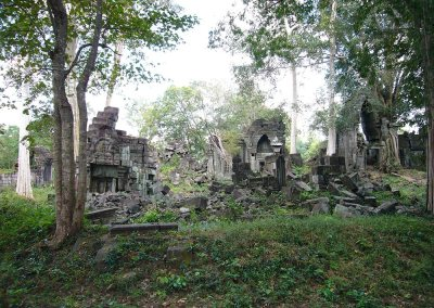 The Mysterious Temple of Preah Khan Thom