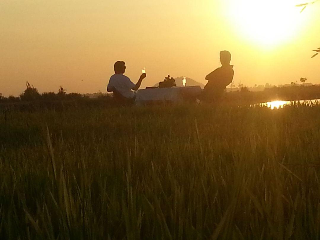 Cycling sunset 6
