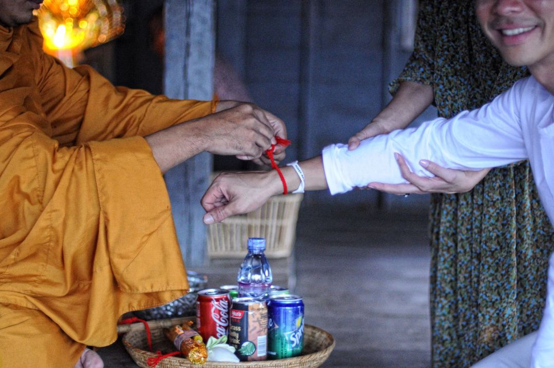 Monk blessing 5