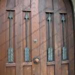 Arrow decoration of West door